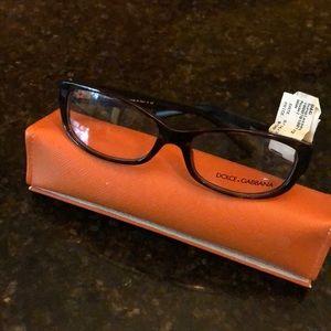 NWT Dolce & Gabbana Tortoiseshell Eyeglass Frames